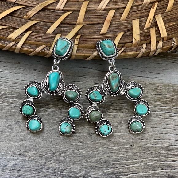 d4f1e2a18 Jewelry | Silverado Squash Blossom Earrings | Poshmark